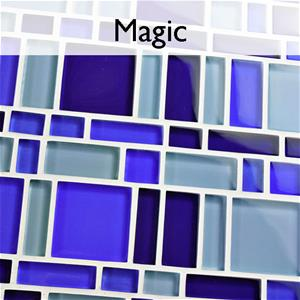 Tessera Magic Glass Mosaic