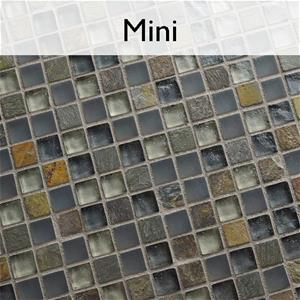 Tessera Mini Glass Stone Mosaic