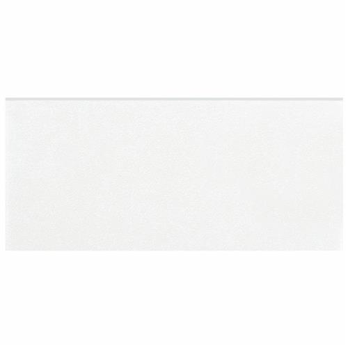 "Picture of Twenties White 3-1/2""x7-3/4"" Ceramic Bullnose F/W Trim"