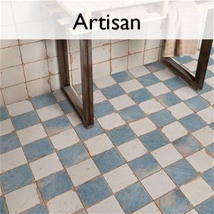Artisan Ceramic Encaustic Tile