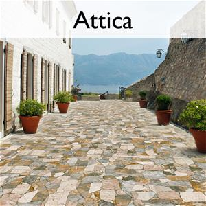 Attica Ceramic Flagstone Tile