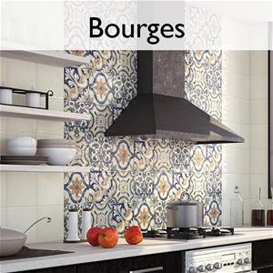 Bourges Ceramic Encaustic Tile