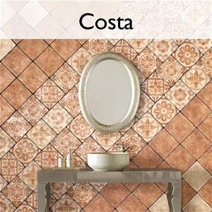 Costa Ceramic Encaustic Tile