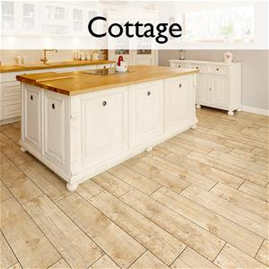 Cottage Ceramic Wood Look Tile