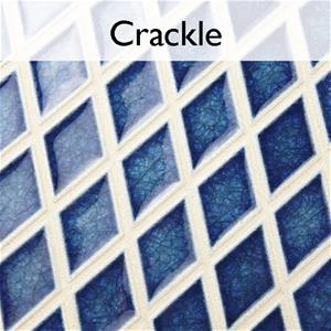 Crackle Handmade Glass Ceramic Tile