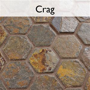 Crag Natural Stone Mosaic Tile