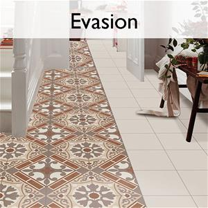 Evasion Ceramic Encaustic Tile