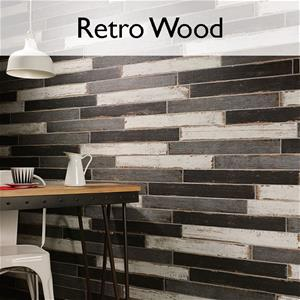 Retro Porcelain Rustic Wood Tile