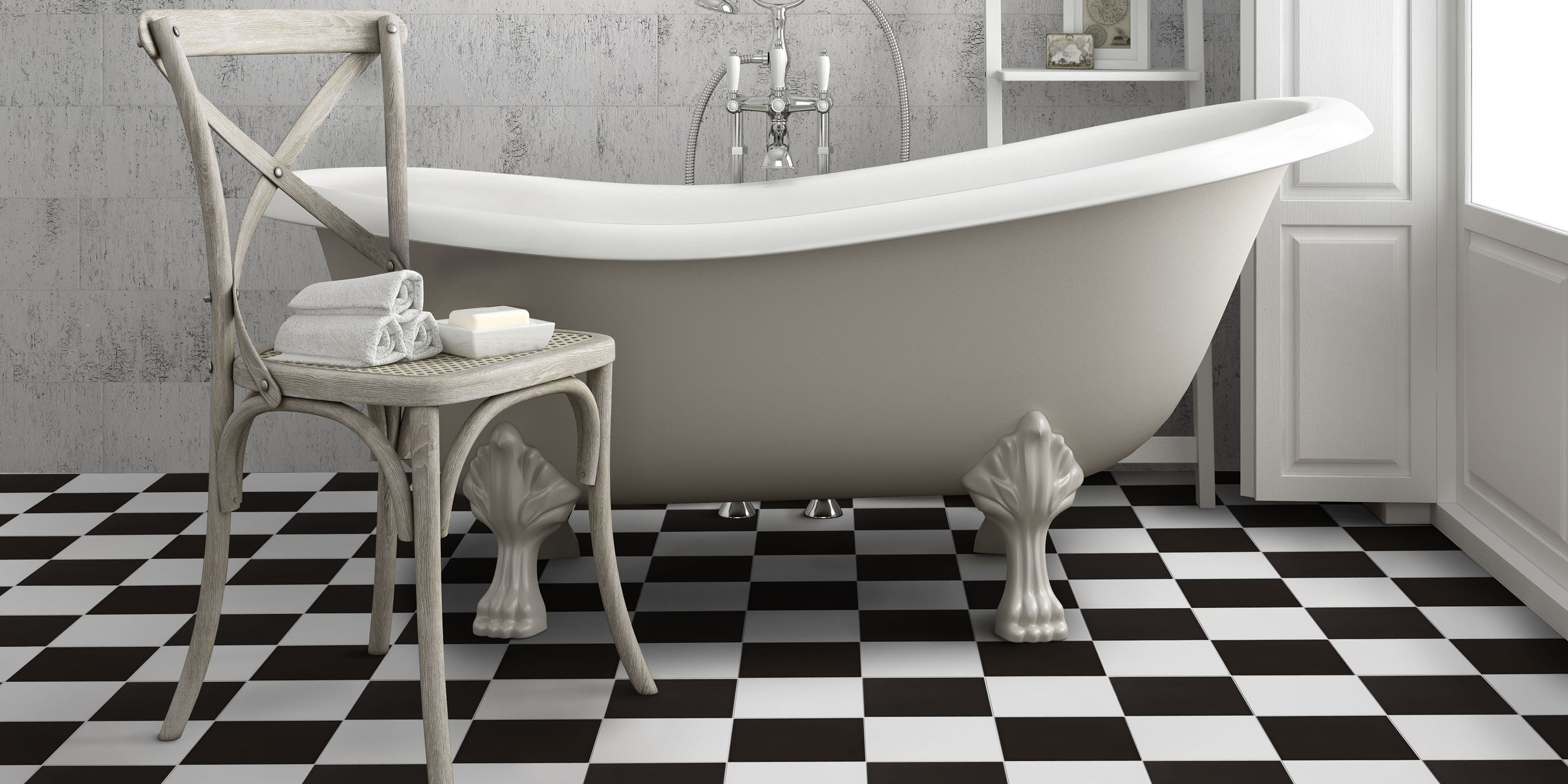 Bathroom- Checker
