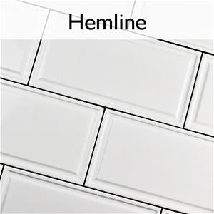 Hemline Ceramic Contemporary Tile