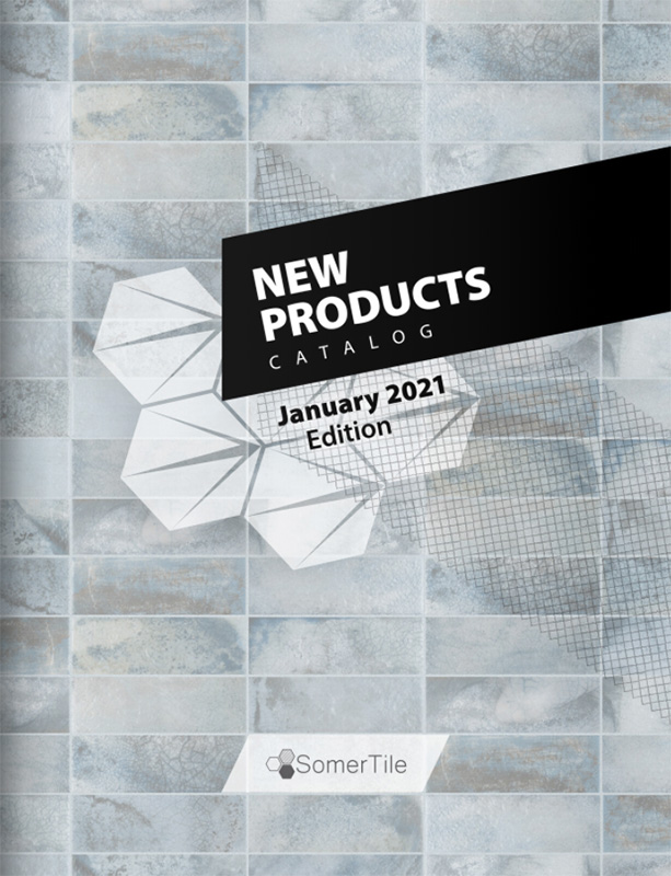 SomerTile January 2021 New Products Catalog Cover Image