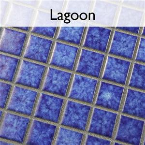 Lagoon Porcelain Mosaic Pool Tile