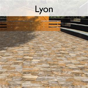 Lyon Ceramic Flagstone Tile
