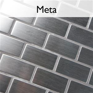 Meta Stainless Steel Mosaic Tile