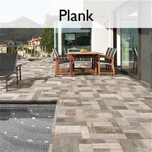 Plank Porcelain Wood Look Tile