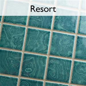 Resort Porcelain Pool Tile