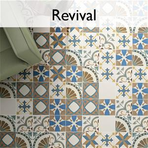 Revival Ceramic Encaustic Tile