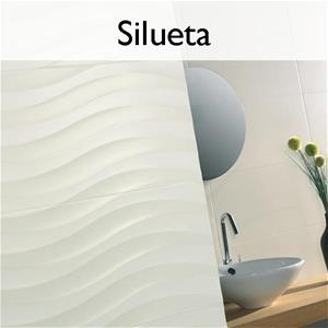 Silueta Ceramic Contemporary Tile