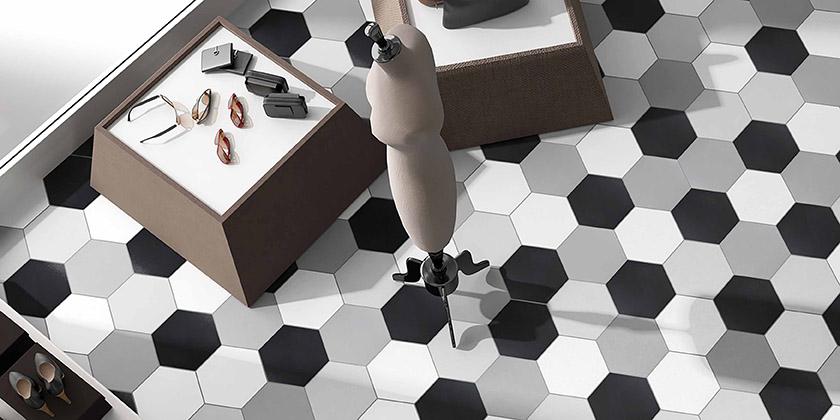 Living Room Textile Hex