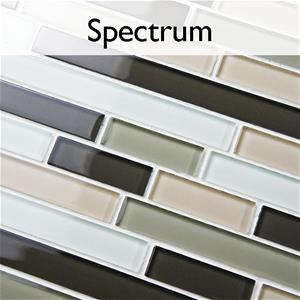 Spectrum Glass Mosaic Tile