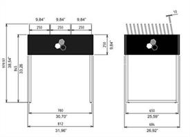Table Display Dimensions