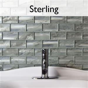 Sterling Glass Mosaic Tile