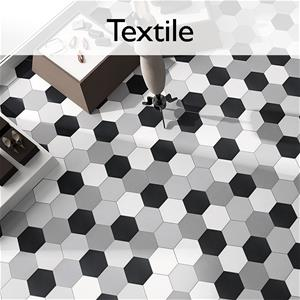 Textile Hexagon Porcelain Tile