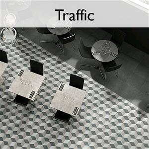 Traffic Porcelain Hexagon Tile