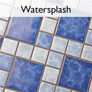 Watersplash Porcelain Pool Tile