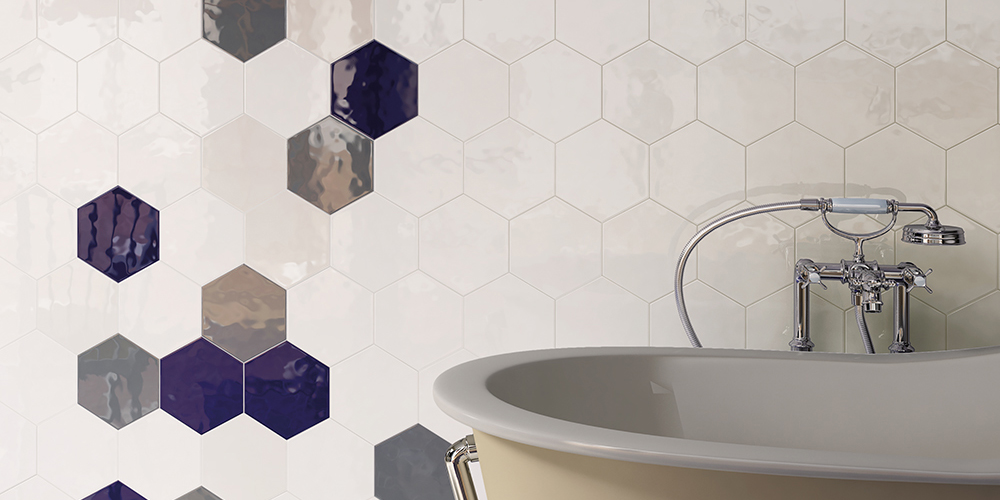 Bathroom Hexatile Cobalto