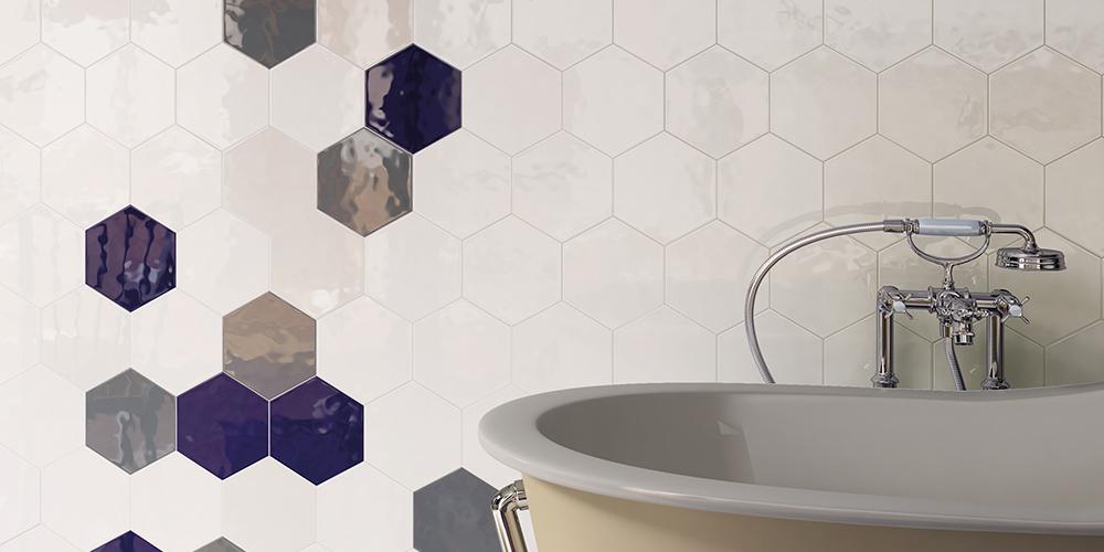 Bathroom Hexatile Cobalto