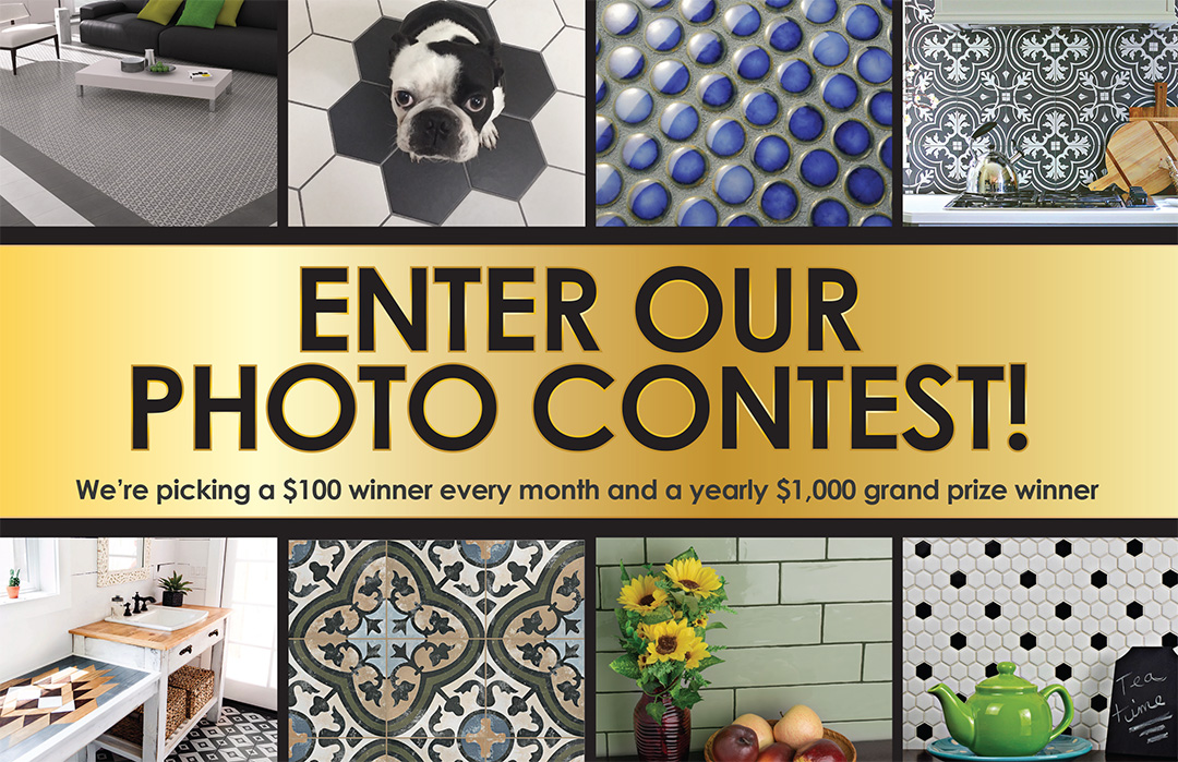 Enter our photo contest! Winners are picked monthly.