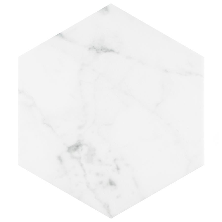 Classico Carrara Hexagon 7 Quot X8 Quot Porcelain F W Tile