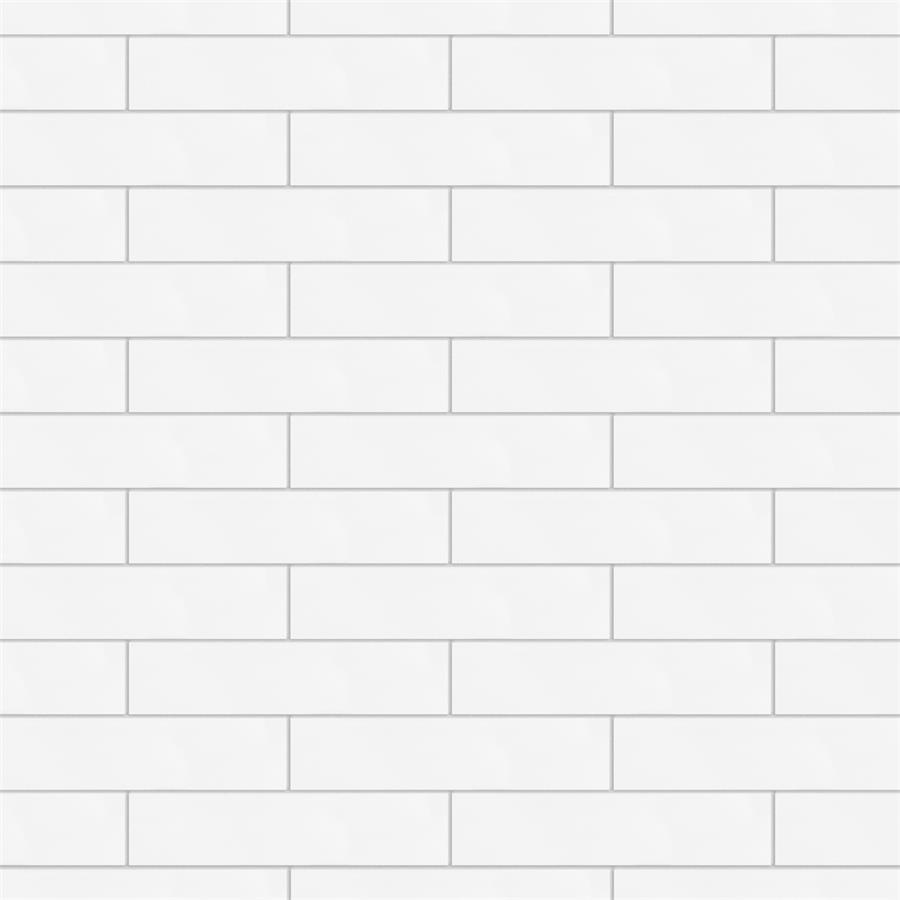 Metro Soho Subway Matte White 1 3 4 Quot X7 3 4 Quot Porc F W Tile