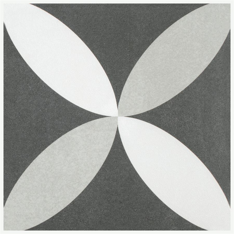 Twenties Petal 7 3 4 Quot X7 3 4 Quot Ceramic F W Tile
