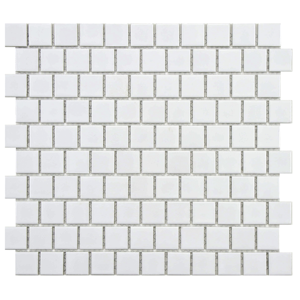 Metro square offset gl white 10 34x11 34 porcelain mos dailygadgetfo Image collections