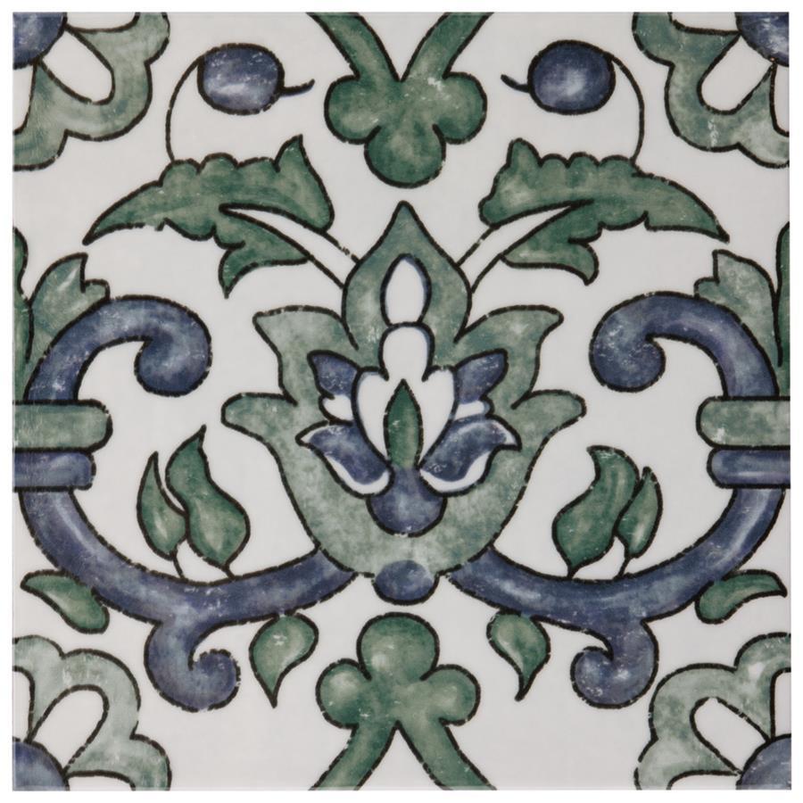 Bourges Gaia 7 78x7 78 Ceramic W Tile