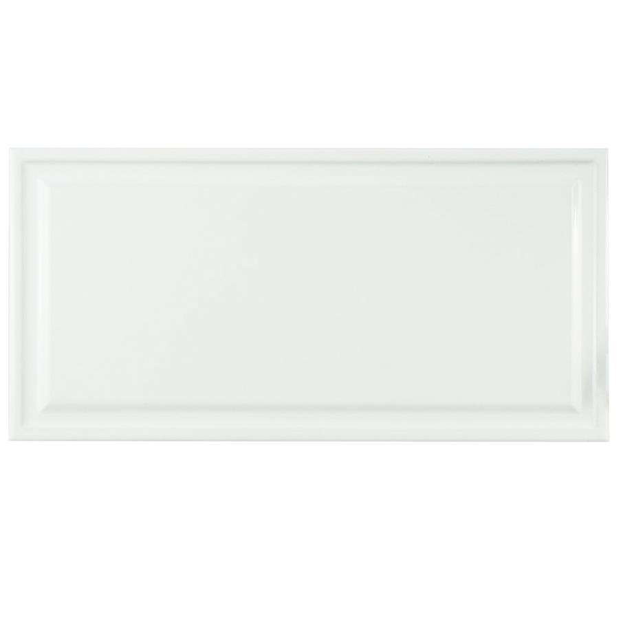 Hemline white 6x12 ceramic w tile dailygadgetfo Choice Image