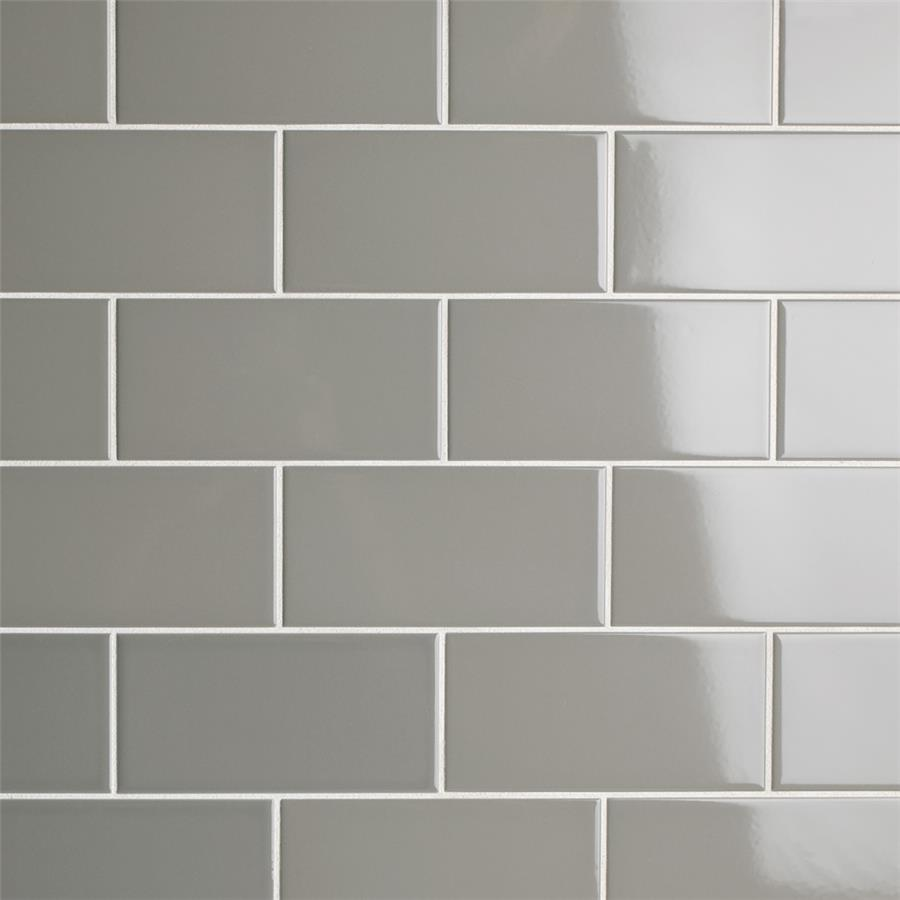 Park slope subway glossy warm grey 3x6 ceramic w tile dailygadgetfo Gallery