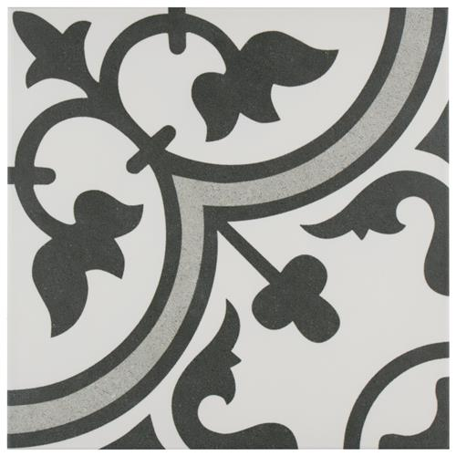 "Arte Grey 9-3/4""x9-3/4"" Porcelain F/W Tile"