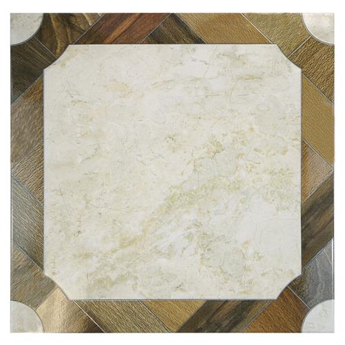 "Jupiter 17-3/4""x17-3/4"" Ceramic F/W Tile"