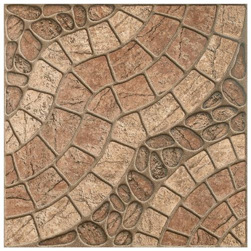"Dakar 17 3/4""x17 3/4"" Ceramic Floor and Wall Tile"
