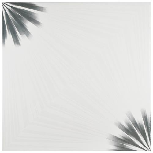 "Pisa Blanco 17-3/4""x17-3/4"" Ceramic F/W Tile"