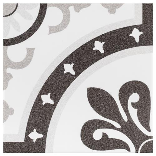 "Monaco Classic 7-3/4"" x 7-3/4"" Ceramic Floor/Wall Tile"