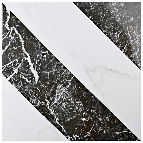 "Elegance Luxe 17-3/4""x17-3/4"" Porcelain F/W Tile"