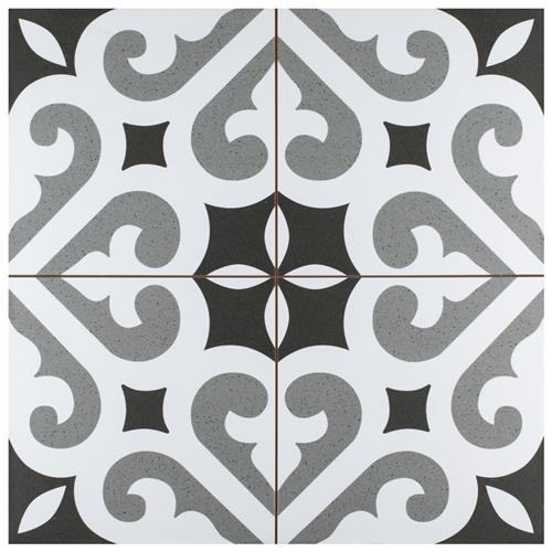 "Thornbury 17-5/8"" x 17-5/8"" Ceramic Floor/Wall Tile"