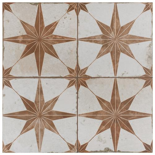"Kings Star Oxide 17-5/8""x17-5/8"" Ceramic F/W Tile"