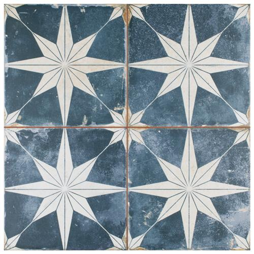 "Kings Star Sky 17-5/8""x17-5/8"" Ceramic Floor/Wall Tile"