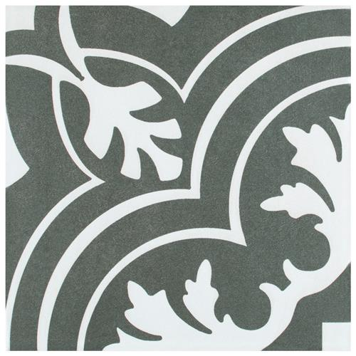 "Twenties Classic 7-3/4""x7-3/4"" Ceramic F/W Tile"