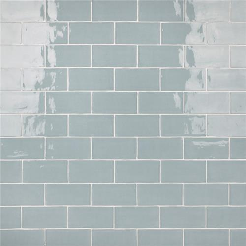 "Castillo Sky 2-7/8""x5-7/8"" Ceramic Wall Tile"